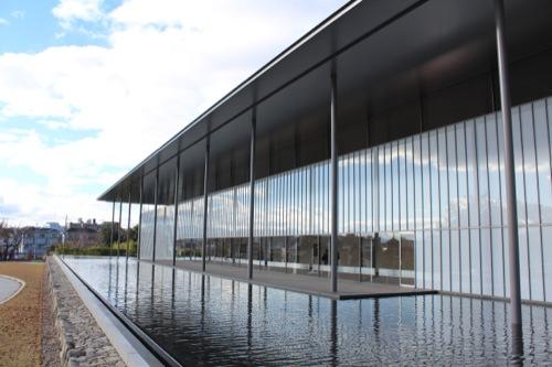 0017:京都国立博物館 手前の池から撮影