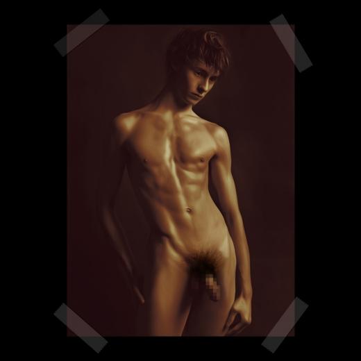 美青年 裸
