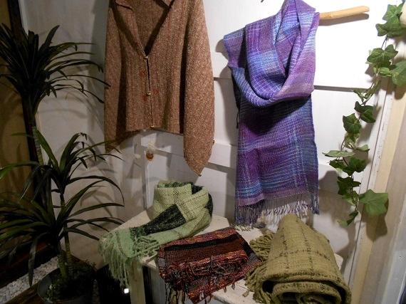 織りとカシュー塗り二人展