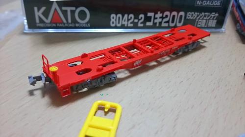 コキ200 ISOコンテナ4