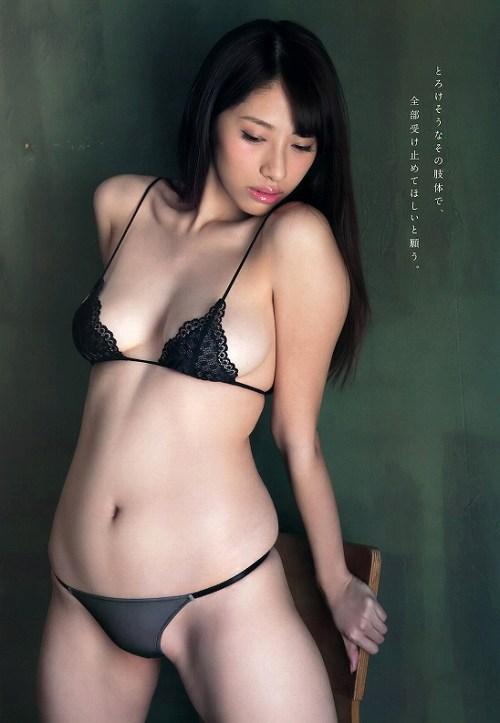 染谷有香グラビア画像b12