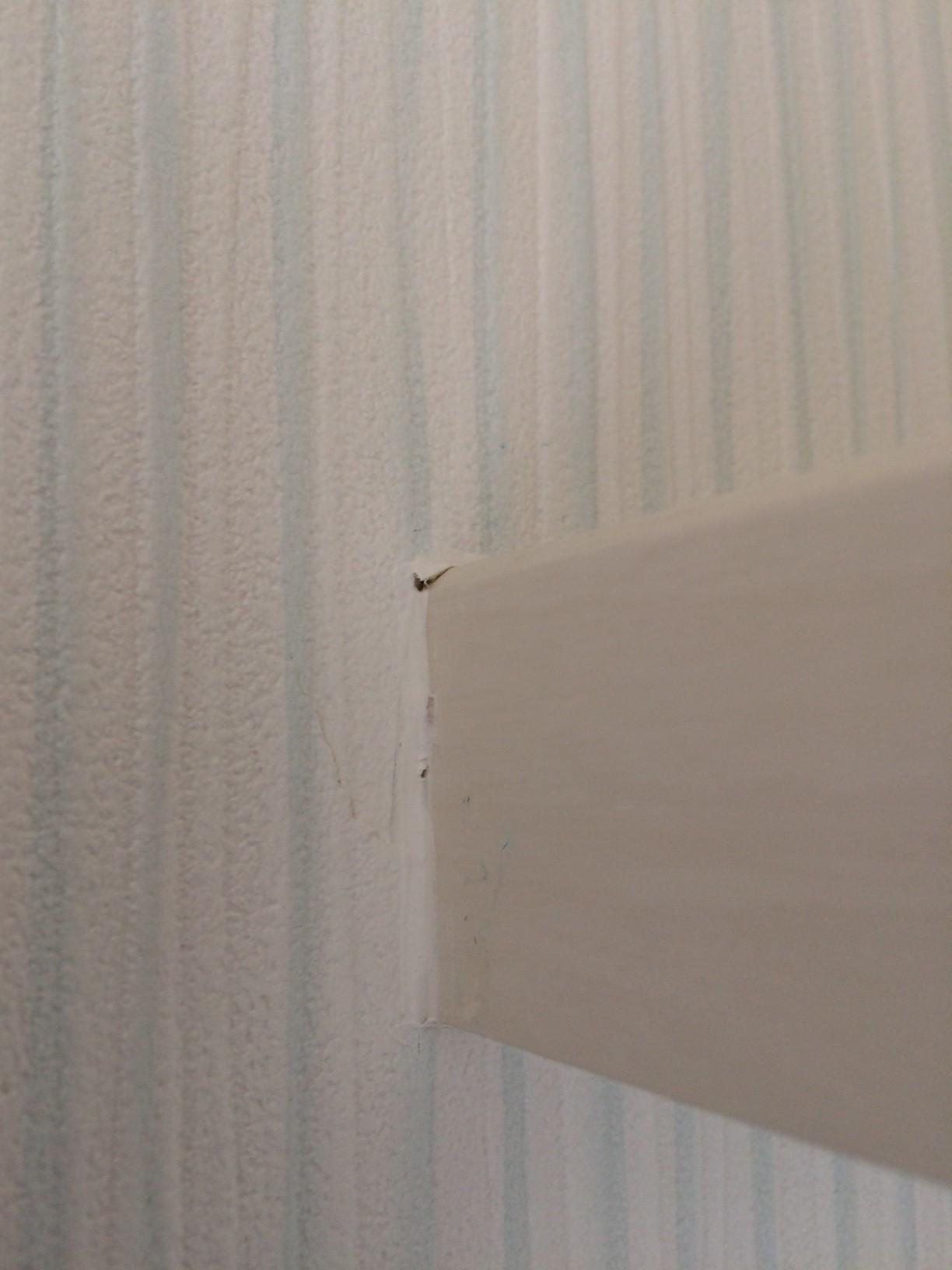 ミサワホームで建てました アフターサービス編 トイレ壁紙