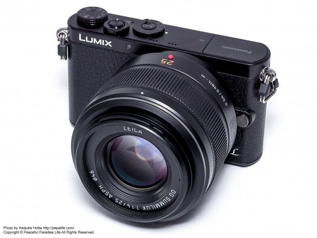 LUMIX GM(DMC-GM1K) + LEICA DG SUMMILUX 25mm F1.4 ASPH.