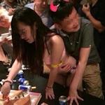 中国ゲームショーのコンパニオン 夜の接待画像が流出?