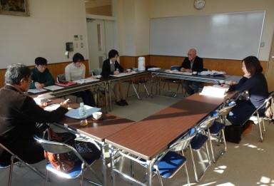 田上いきいき健康教室の検討会